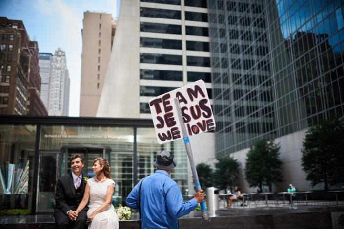 Lucy Gianna Leo Falcon Wedding Photography New York