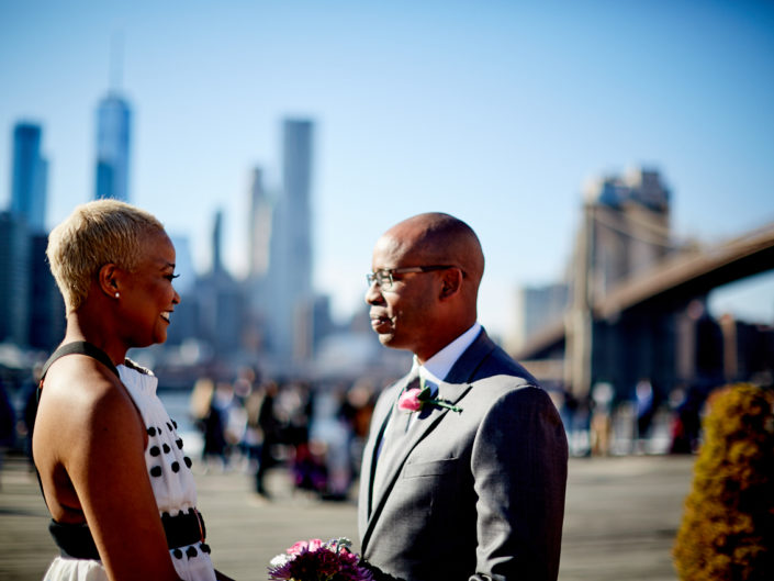 Brooklyn Bridge Park Elopement photographer
