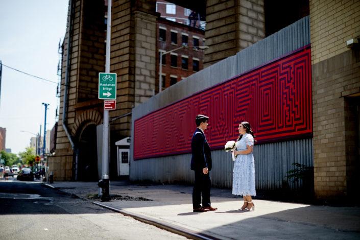 Leslie Gianna Leo Falcon Wedding Photography New York