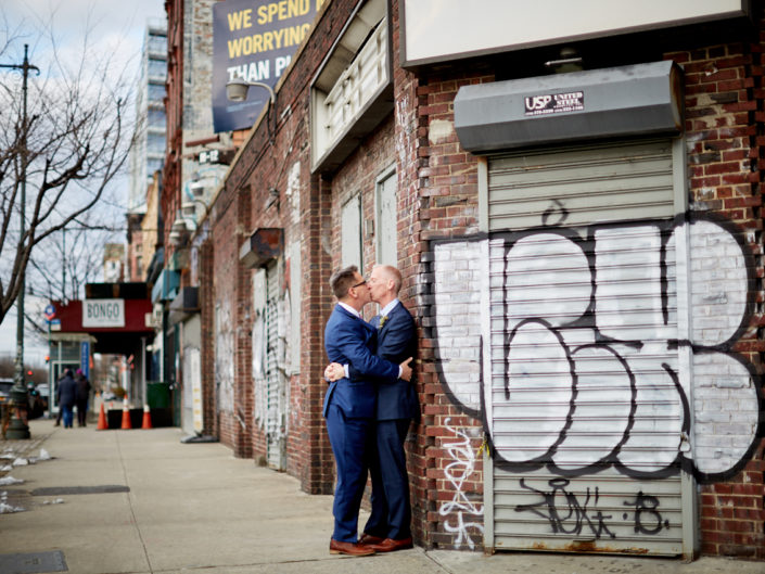High Line Elopement same sex marriage