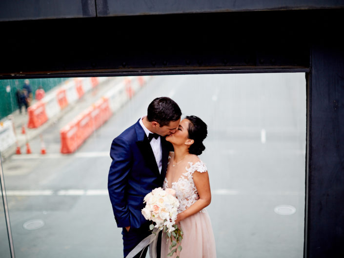 New York City High line wedding