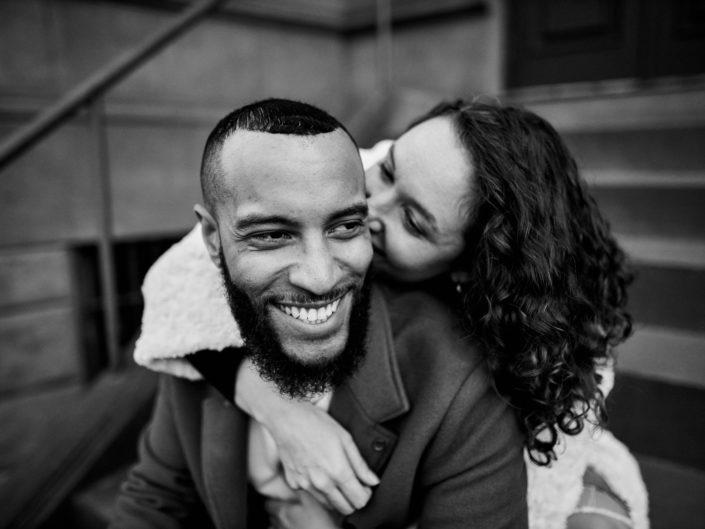 Harlem Engagement Photo Shoot