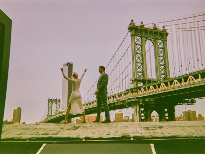 Brooklyn Analog Film Wedding Photographer