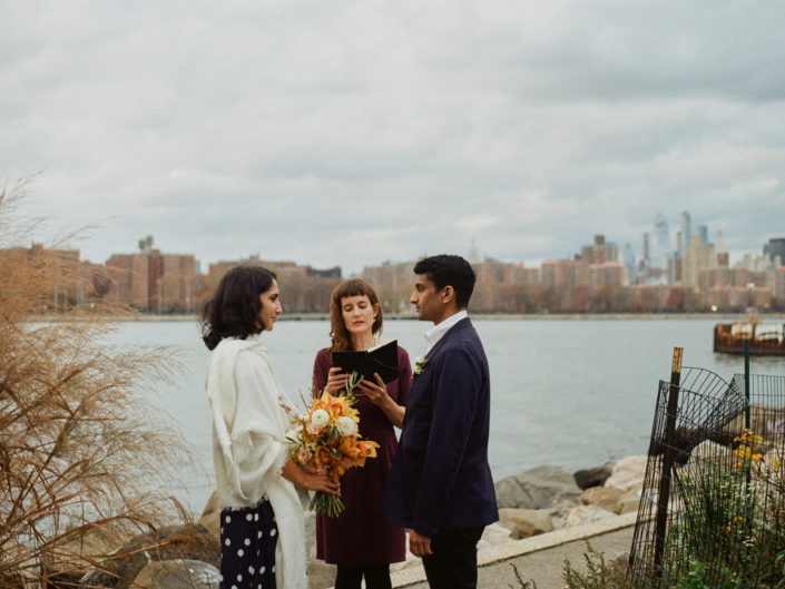 Analog Film Wedding Brooklyn