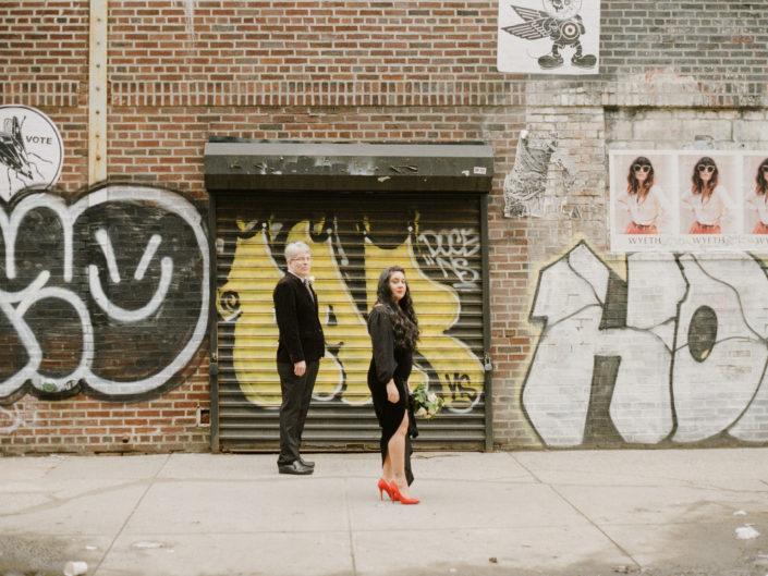 West Village Film Wedding Shoot