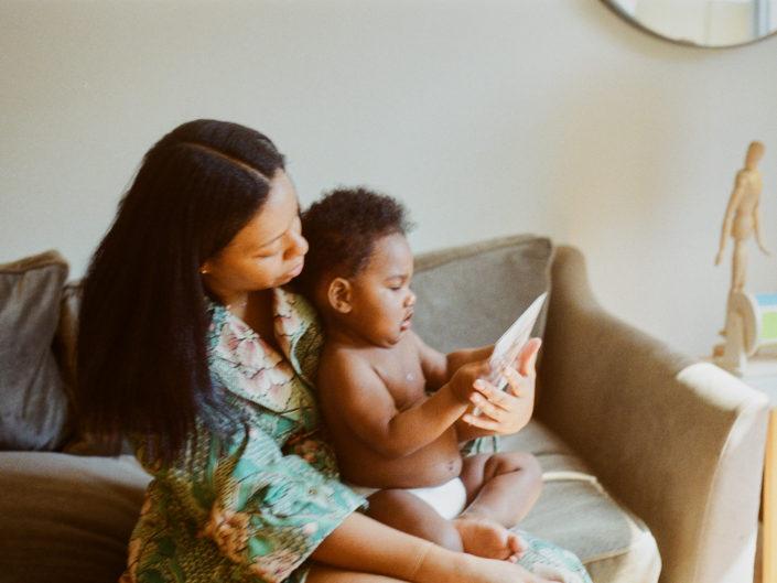 Harlem 35mm film Family Photography